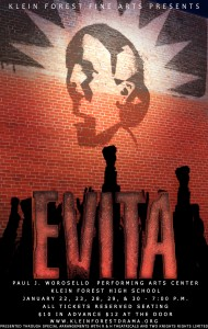 Evita Finished Logo